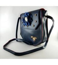 MWS BLUE CLUTCH BAG FOR FEMALES
