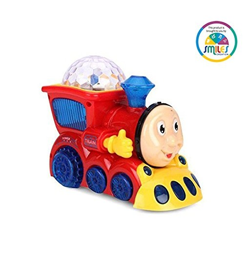 Smiles Creation Bump And Go Musical Train With 4D Light