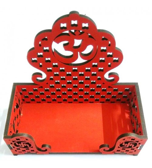Decorative Singhasan,Decorative Diya Stand, Deepawali Product, Decorative Product, Art Decor, Festival Product, Made of MDF,CNC cutting,