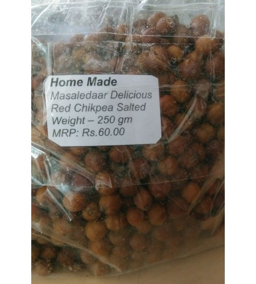 Spicy Red Chick Pea, Spicy Fried Red Chick Pea, Red Chick Pea, Fried Gram, 250 Gram
