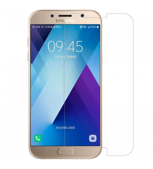 Samsung Galaxy A7 (2017) Tempered Glass Screen Protector, High Quality, 0.4 mm, Scratch Resistant