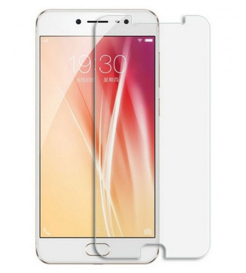 Vivo V5 Tempered Glass Screen Protector, High Quality, 0.4 mm, Scratch Resistant